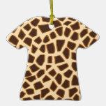Copie de girafe - ornement de T-shirt