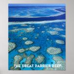 Copie de la Grande barrière de corail Poster