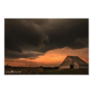 Copie de la partie II de tempête de juin Impression Photo