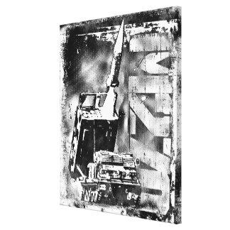 Copie de la toile M270 étirée par système de