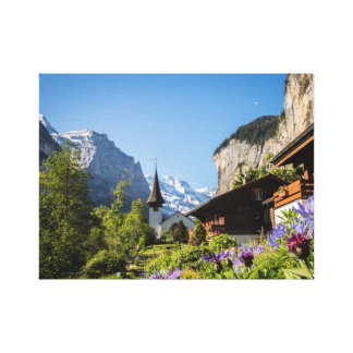Copie de Lauterbrunnen de toile (14x11)