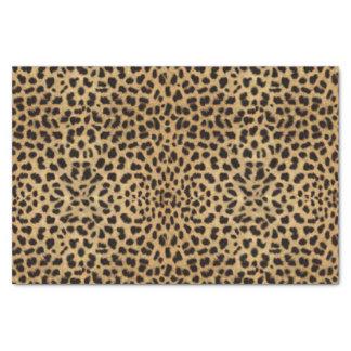 Copie de motif de tache de léopard papier mousseline