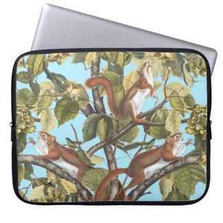 Copie de motif d'écureuil de poster de animal protection pour ordinateur portable
