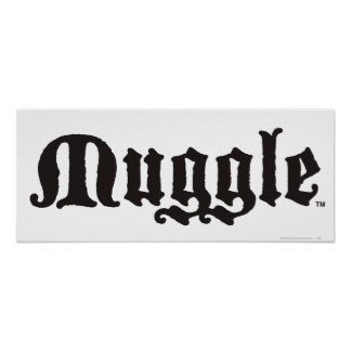 Copie de MUGGLE™ Affiche