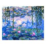 Copie de nénuphars de Monet Photo D'art