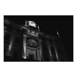 Copie de photo - bâtiment de nuit à Milan