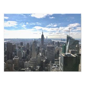 Copie de photo d'état d'empire de New York