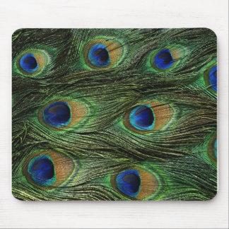 Copie de plume de paon tapis de souris
