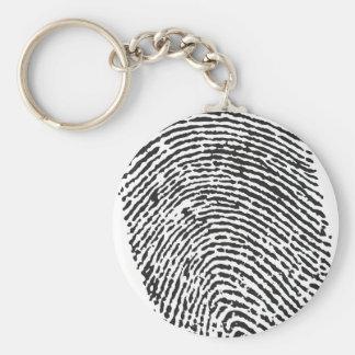 Copie de pouce porte-clé rond