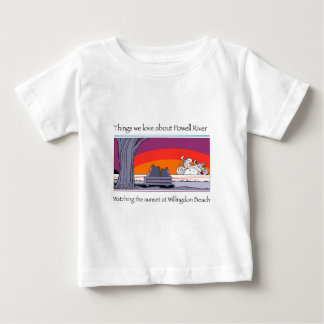 Copie de rivière de Powell T-shirt Pour Bébé