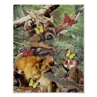 Copie de swing de jungle affiches