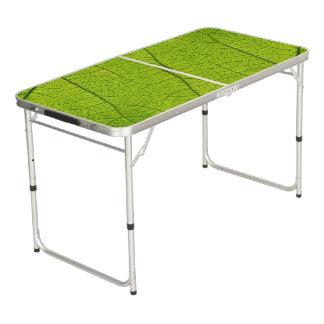 Copie de Tableau de puanteur avec la feuille verte Table Beerpong