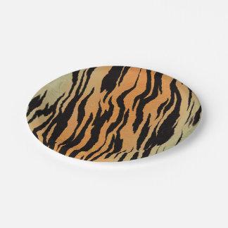Copie de tigre assiettes en papier