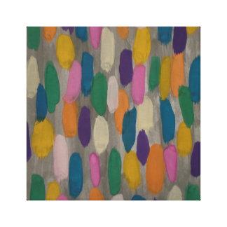 Copie de toile d'art abstrait de traçages de jour