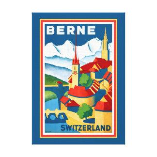 Copie de toile de Berne, Suisse