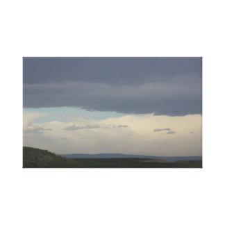 Copie de toile de ciel nuageux