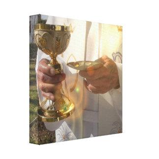 Copie de toile de communion impression sur toile