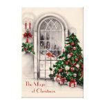 Copie de toile de fenêtre de Noël grande Impressions Sur Toile