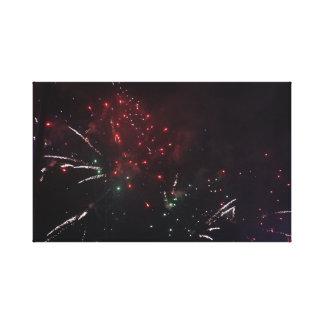Copie de toile de feux d'artifice