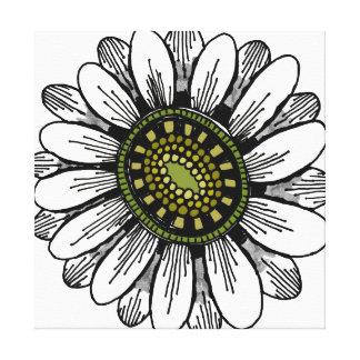 copie de toile de fleur - rétro toiles tendues