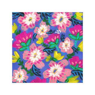 Copie de toile de fleurs de rose