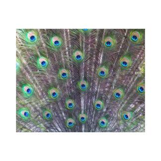 Copie de toile de la transe d'un paon toiles