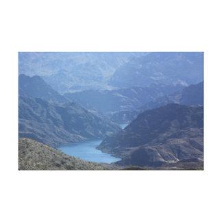 Copie de toile de Meade de lac
