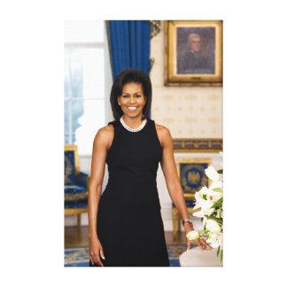 Copie de toile de Michelle Obama Toiles Tendues Sur Châssis