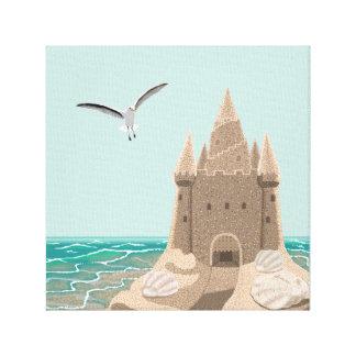 Copie de toile de mouette de pâté de sable