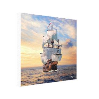 Copie de toile de Nuestra Señora de Atocha Galleon