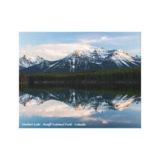 Copie de toile de parc national de Banff