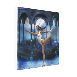 Copie de toile de patinage artistique toiles tendues sur châssis