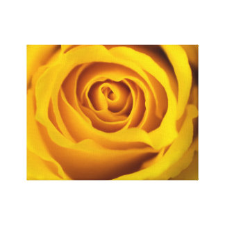 Copie de toile de photo de rose jaune toiles