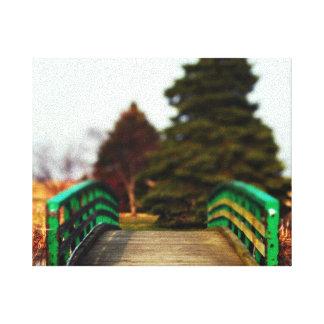 Copie de toile de pont en natures toiles tendues sur châssis