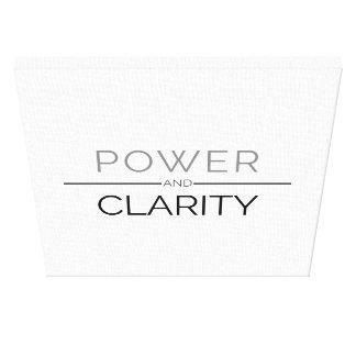 Copie de toile de puissance et de clarté