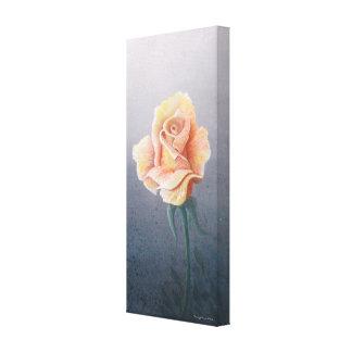 Copie de toile de rose jaune