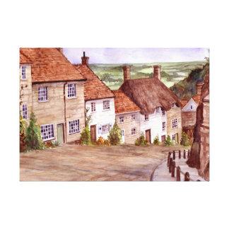 Copie de toile de Shaftesbury de colline d'or