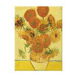 """Copie de toile des """"tournesols"""" de Vincent van Gog Impression Sur Toile"""