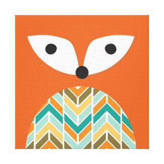 Copie de toile enveloppée par crèche de Fox de Toiles