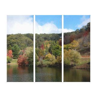 Copie de toile - lac autumn toiles
