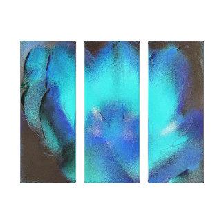 Copie de toile - le feu bleu toiles