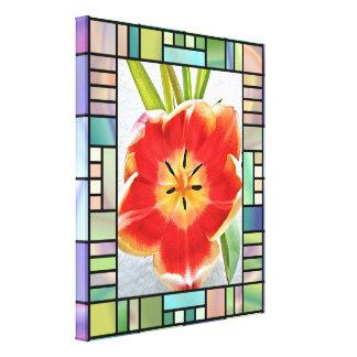 Copie de toile - tulipe de floraison toiles
