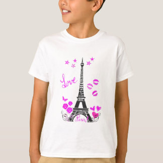 COPIE DE TOUR EIFFEL DE PARIS D'AMOUR T-SHIRT
