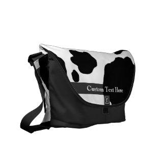 Copie de vache à amusement personnalisée sacoche
