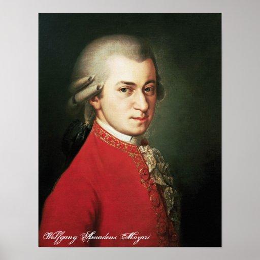 Copie de Wolfgang Amadeus Mozart Affiche