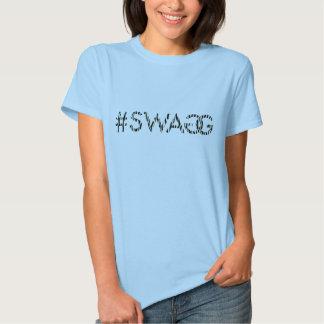 Copie de zèbre de Swagg T-shirts
