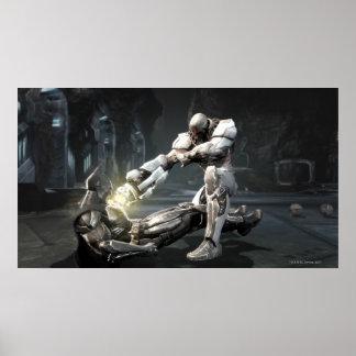 Copie d'écran : Batman contre le cyborg Posters