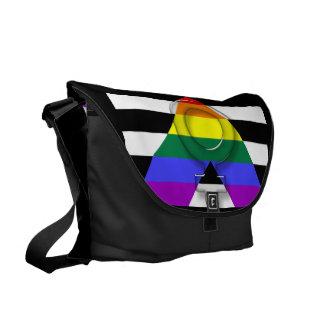 Copie d'intérieur de sac messenger à allié de LGBT Besaces