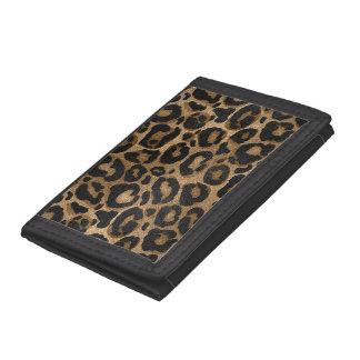 Copie d'or et noire de Jaguar de léopard de