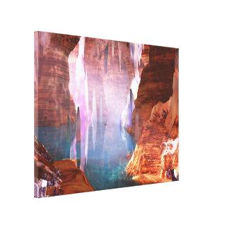 Copie éclatante de toile de cavernes